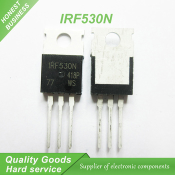 50 ADET IRF530N IRF530 IRF530NPBF MOSFET 100 V 17A MOSFT 90 mOhm 24.7nC TO-220 yeni orijinal
