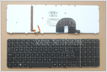 YENI Hp Envy 17,17-2199EL, 17-2199EZ 17-1189EL, 17-1190CA İSVIÇRELI laptop klavye backlight 610914-BG1