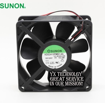 SUNON Yeni ve Orijinal KDE2412PMB1-6A 12038 12 cm 24 V 10.3 W inverter fan 120*120*38mm