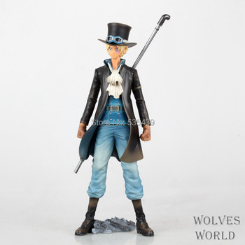 Hot ! NEW 1pcs 18cm One piece Sabo pvc action figure toy